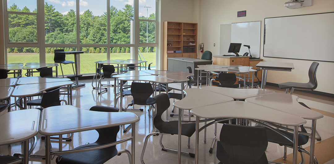 Classroom Design Website : Marshfield high school integrated contract design
